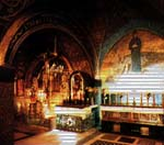 Chapel of the Nailing to the Cross, Chapel Stabat Mater and Altar of the Crucifiction.