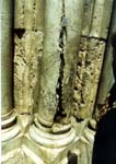 The column where from Holy Fire appears