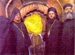 Фотография запечатанного входа в кувуклию