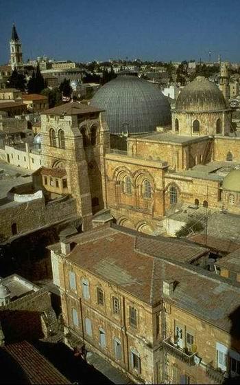 Древо - иллюстрация: Иерусалимский храм Воскресения Христова (Гроба Господня) .